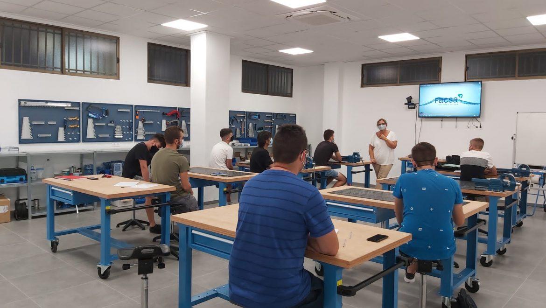 FACSA inaugura su Escuela de Formación con la 2ª edición de su ciclo de Grado Medio