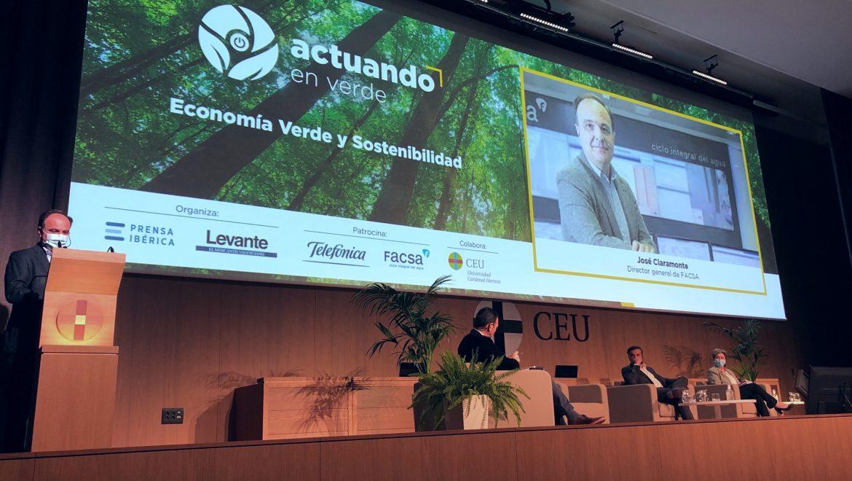"""FACSA pone en valor su compromiso con la sostenibilidad y la economía circular en la jornada """"Actuando en verde"""""""