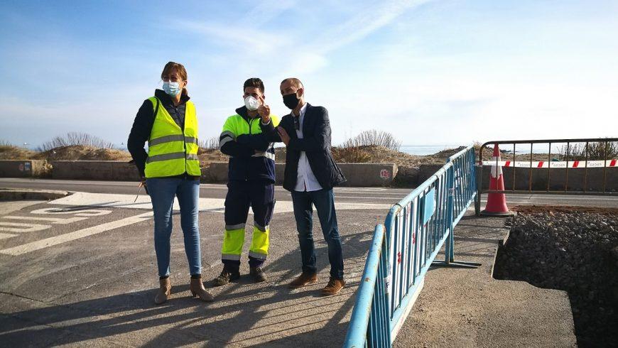 Almassora y FACSA destinan más de 40.000 euros a la mejora de la red de agua potable en la playa