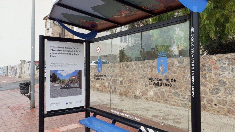 FACSA y el Ayuntamiento de la Vall muestran con imágenes 3D el aspecto final del proyecto de renovación de la red de la calle Xacó