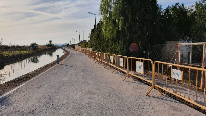 Nules finaliza los trabajos de renovación de la red de agua de Camí Canal
