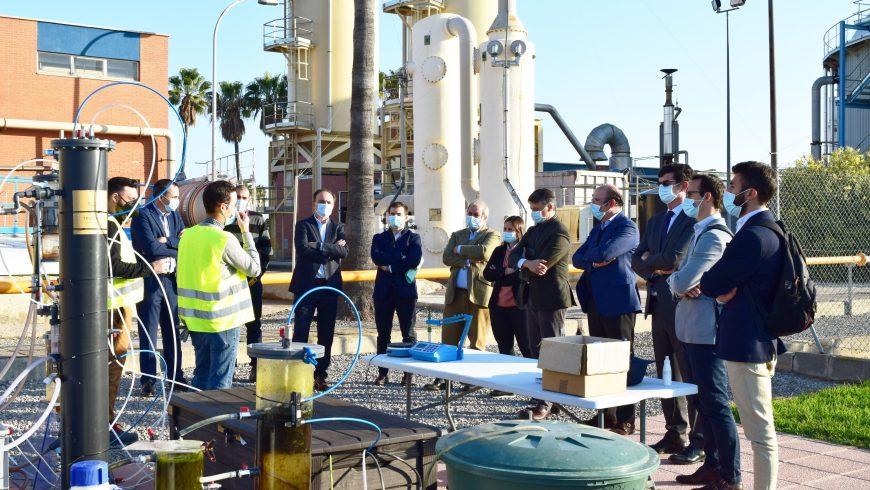 FACSA y Trovant Technology reciben la visita de Enagás a la planta piloto en la EDAR de Castelló