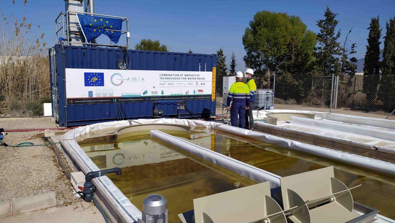 El proyecto europeo LIFE AMIA avanza en su objetivo de fomentar la reutilización del agua depurada