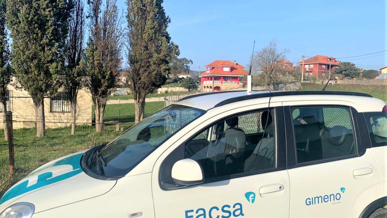 FACSA digitalizará la lectura de contadores de agua en la zona rural de Siero