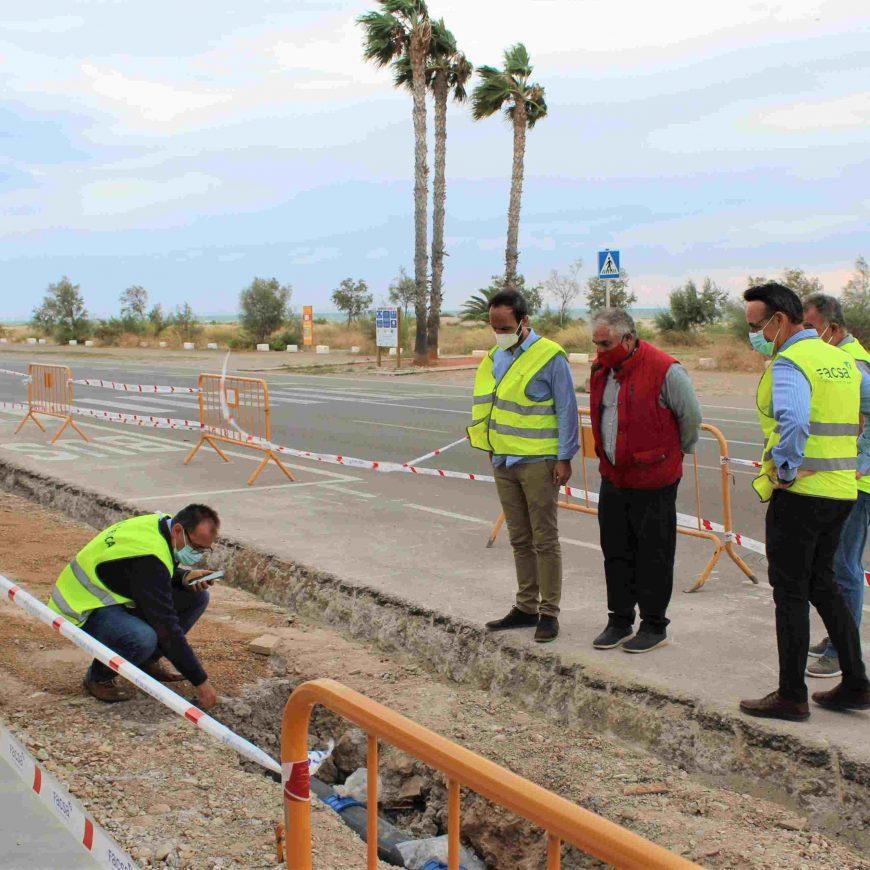 FACSA presenta el Proyecto de renovación de la red Burriana de agua potable y alcantarillado 2021