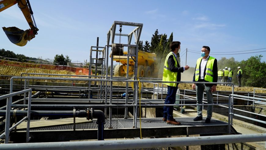 Calvià adjudica a la UTE FACSA-VOPSA las obras de la nueva depuradora del municipio mallorquín