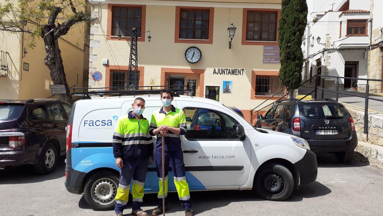 Cervera del Maestre confía a FACSA el servicio de abastecimiento de agua potable de la localidad