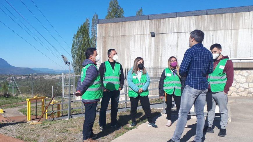 El Ayuntamiento de Jaca visita la ETAP con el objetivo de reforzar la cultura del agua entre sus habitantes