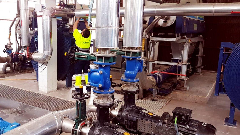 EPSAR y FACSA aplican la digestión anaerobia en doble fase de temperatura para aumentar la eficiencia y sostenibilidad del proceso de tratamiento de lodos en EDARs