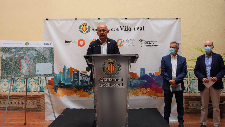 El Ayuntamiento de Vila-real y FACSA presentan las líneas de actuación que asegurarán el abastecimiento de agua al municipio en los próximos 25 años