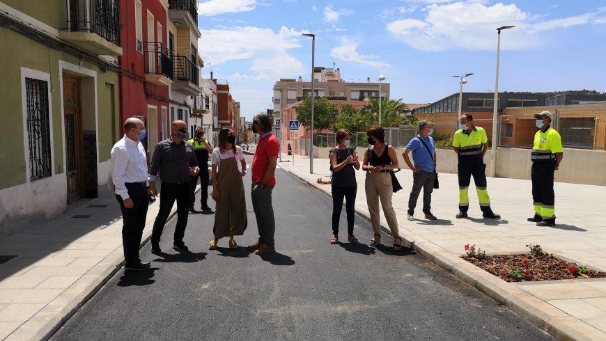 FACSA concluye dos fases clave del Proyecto de Renovación y Mejora de las Infraestructuras de la Red de Agua Potable de la calle Xacó de la Vall d'Uixó