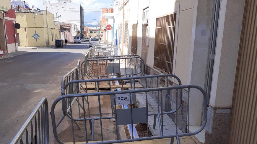 El Ayuntamiento de Torreblanca y FACSA trabajan en la renovación de la red de agua potable y saneamiento
